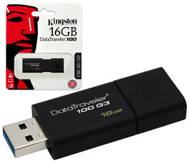 regalo Pendrive KINGSTON 16GB 3.1