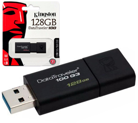 regalo Pendrive KINGSTON 128GB 3.1