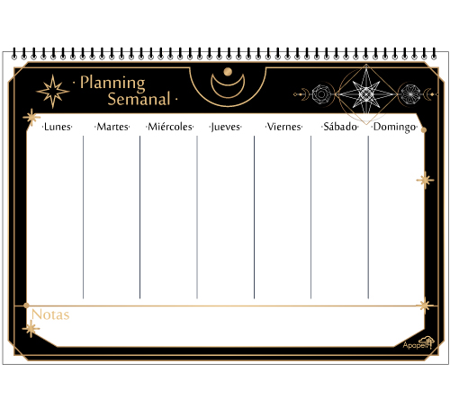 regalo Planning semanal Tarot