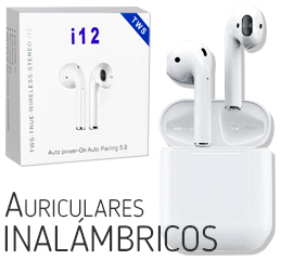 regalo Auriculares Inalámbricos Bluetooth